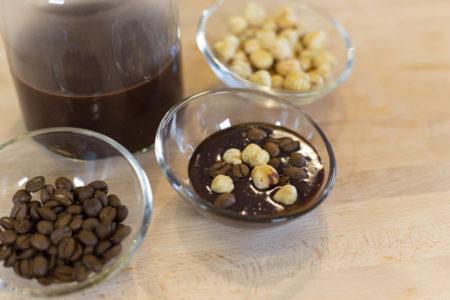 nutella vegana al caffè